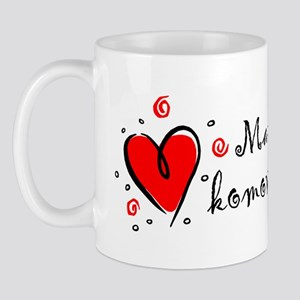 """I Love You"" [Gypsy/Romany] Mug"